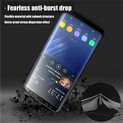 AU3.58 • Buy 2x Clear HD Screen Protector For Samsung Galaxy S6Edge S6Edge+ S8 S8+ S9 S9 Plus