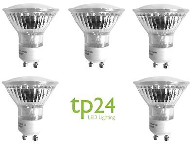 5x Tp24 3.5W GU10 Dimmable LED Bulb Warm White 330 Lumens L1 Cap Value Pack • 37.50£