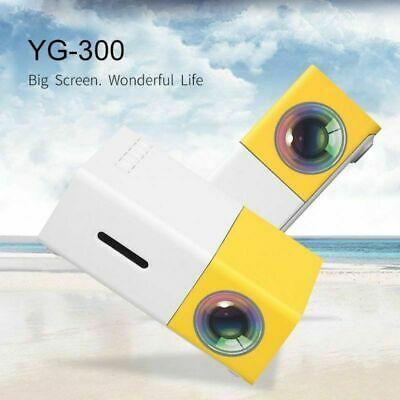 AU69.39 • Buy Mini Pocket YG300 LED Projector 1080P Home Theater Cinema HD Multimedia HDMI USB