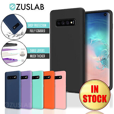 AU8.95 • Buy For Samsung Galaxy S10 5G S10E Plus S9 S8 Plus ZUSLAB Soft Silicone Case Cover