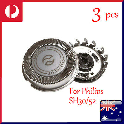 AU21.19 • Buy 3Pcs Replacement Trimmer Shaver Head For Philips SH30/52 Series 1000 2000 3000