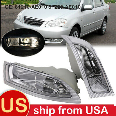 $39.78 • Buy Driver Passenger Fog Lights Lamps For Toyota Sienna 3.3L 81220-AE010 81210-AE010