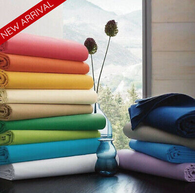 AU32.95 • Buy 1000TC Bamboo Blend Sheet Set Fitted Flat Pillowcase Ultra Soft Bedding All Size