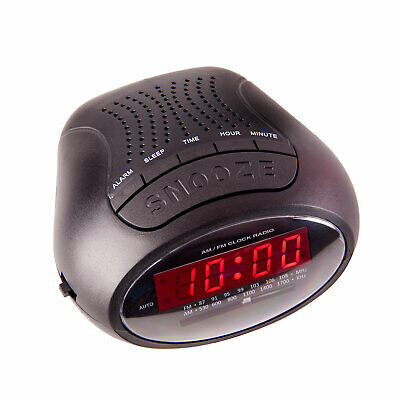 AU24.95 • Buy NEW Laser Alarm Clock Radio AM FM With Power Back-Up
