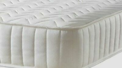 £114.95 • Buy Single Memory Foam And Spring Quilted Budget Mattress 3ft 90cm X 190cm