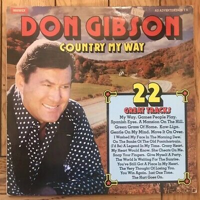 £1.99 • Buy Don Gibson- Country My Way- Vinyl Record