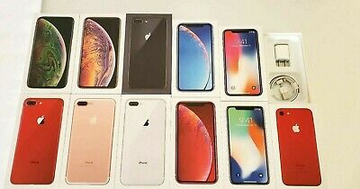 AU17.01 • Buy IPhone XS Max XS X XR 8 Plus 7 Plus 8 7  Empty Retail Box Option Of Acessories