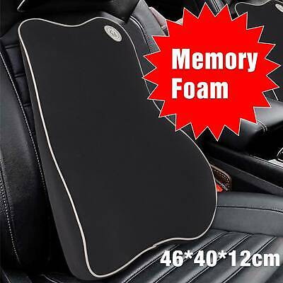 AU32.62 • Buy Memory Foam Lumbar Back Support Cushion Pillow Home Car Office Seat Chair Black