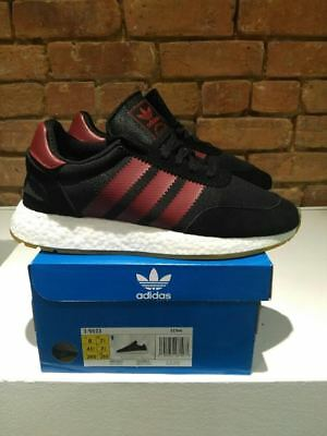 $ CDN170 • Buy Adidas I-5923 Iniki Runner Shoes Boost Color Black/burgundy Style B37946