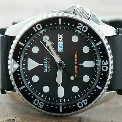 $ CDN404.74 • Buy Seiko SKX007 Divers Watch Men Vintage 90's Automatic Day Date Ref. 7S26-0020