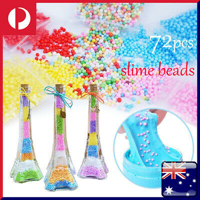 AU19.99 • Buy Glue 72Pcs Kit Slime Supplies Slime Beads Charms Accessories Children DIY Tools