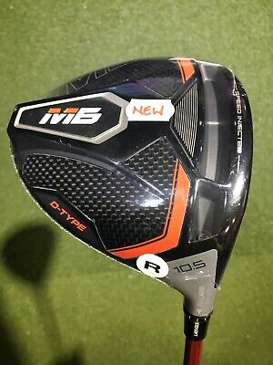 AU499 • Buy Brand New Taylormade M6 D-type Right Hand 45 Gram Regular 10.5 Degrees Driver