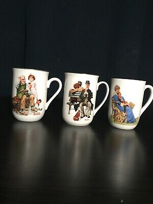 $ CDN5 • Buy Norman Rockwell Mugs 1982