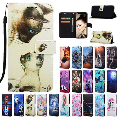 AU17.99 • Buy For IPhone 11 Pro Max 6S 7/8 Plus XS XR Hot Pattern Wallet Leather Cover Case