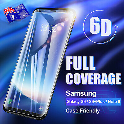 AU4.85 • Buy For Samsung Galaxy S10 S9 S8 Plus S10e Note 9 8 Tempered Glass Screen Protector