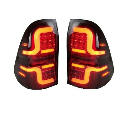 AU369 • Buy New LED Tail Lamp Light Rear Smoked For Toyota Hilux N70 2004-2015