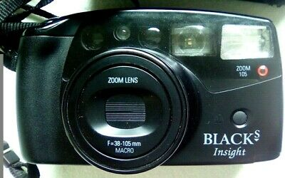 $ CDN29.80 • Buy Blacks Insight Zoom 105 Vintage Camera With Original Case Macro And Super Macro