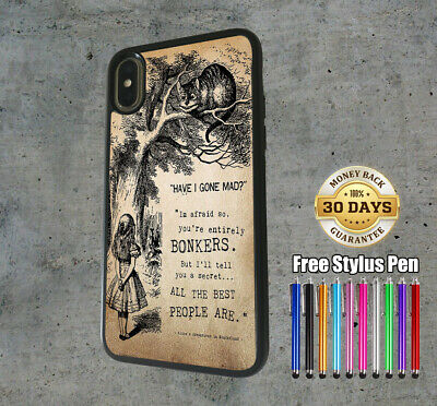 AU12.99 • Buy IPhone Samsung Huawei Silicone Cover Case Disney Alice In Wonderland Quote
