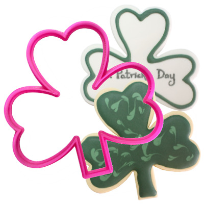 £4.25 • Buy Plastic Shamrock Cookie Cutter - Perfect For St Patricks Day