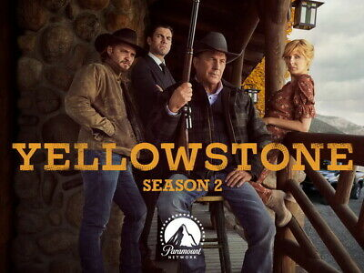 AU6.99 • Buy 002 Yellowstone - Season 1 2 Kevin Costner USA TV Show 18 X14  Poster