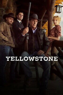 AU9.99 • Buy 005 Yellowstone - Season 1 2 Kevin Costner USA TV Show 24 X36  Poster