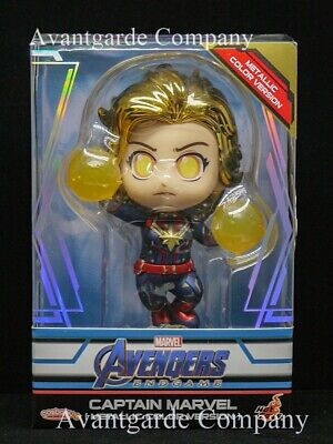 $ CDN46.27 • Buy Hot Toys Cosbaby Captain Marvel Metallic Color Version Avengers Endgame 100%real