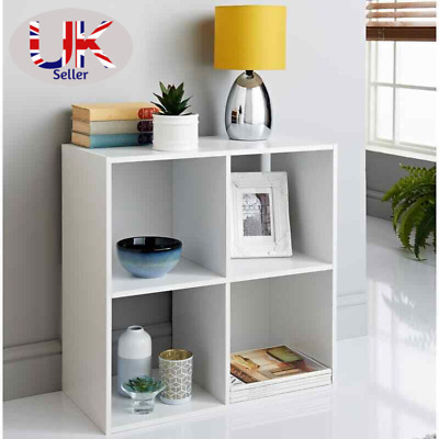 £26 • Buy 2/3/4/5/6 Tier Cubes Drawers Shelving Storage Unit Bookcase Cabinet Living Room