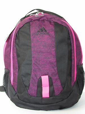 $34.99 • Buy Adidas Journal Large Capacity Deluxe Backpack School Bag Black Pink Laptop