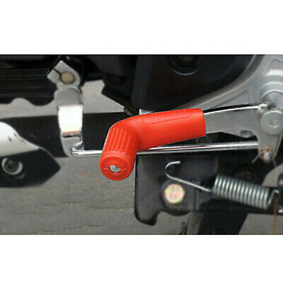$0.99 • Buy 1x Red Motorcycle Parts Rubber Shifter Lever Socks Boots Shoes Protecting Cover
