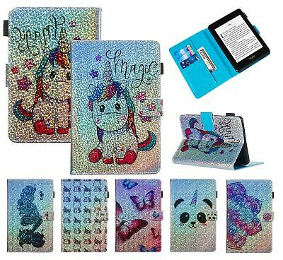AU28.89 • Buy For All-New Amazon Kindle Paperwhite 2018/123 Glitter Leather Wallet Case Cover