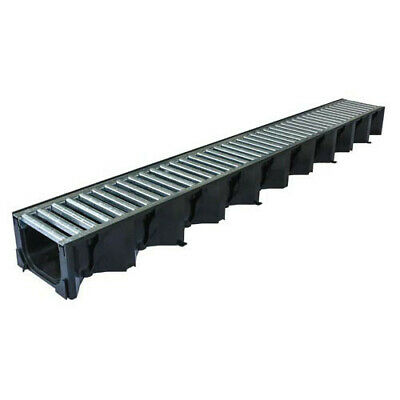 £9.25 • Buy Aco Hexdrain High Strength Drainage Channel Galvanised Steel Grating 1000mm A15