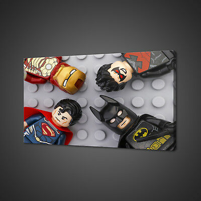 £28.21 • Buy Lego Super Heroes Canvas Picture Print Wall Art Home Decor Free Delivery