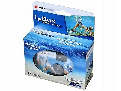 £14.95 • Buy AGFA Agfa Photo Le Box Ocean Disposable Single Use Underwater Camera 27 Exp. SUC