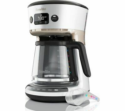 £39.99 • Buy BREVILLE Mostra Easy Measure Filter Coffee Machine VCF115 - Silver - Currys