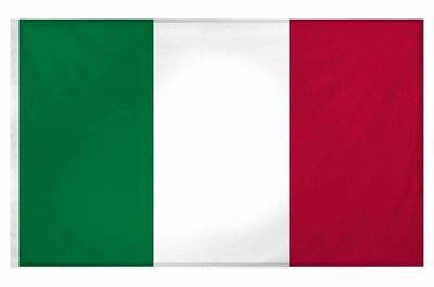 £3.10 • Buy 5ft X 3ft Italian National Flag Sports Supporter Italy EuroVision Party