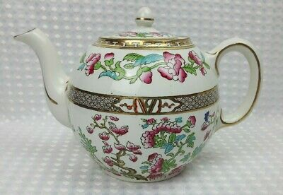 Sampson Bridgwood - Indian Tree - 1 Pint Teapot - Excellent • 55£