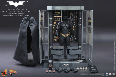 $ CDN927.94 • Buy =MIB= 1/6 Hot Toys The Dark Knight Batman Armory With Batman MMS234 Retired