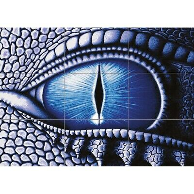 £13.99 • Buy Evil Gothic Dragons Eye Horror Giant Wall Art New Poster Print Picture