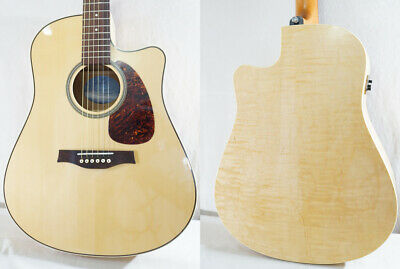 $1192.80 • Buy Used Seagull Performer CW Flame Maple QIT NAT Acoustic Electric Guitar W/OGB