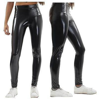 £3.49 • Buy New Ladies American Apparel Style Stretchy Shiny Snake Skin Disco Pants 6-12