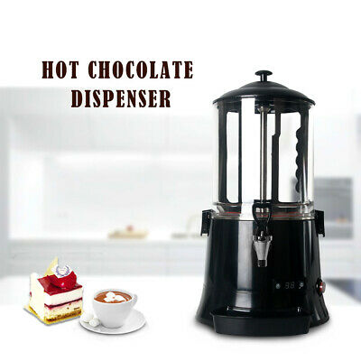 Commercial Hot Chocolate Dispenser Drinks Machine Black 10L CE Marked LED Screen • 302.81£