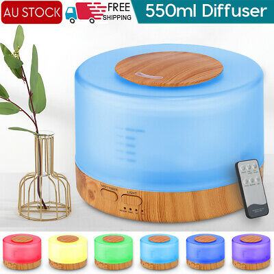 AU27.87 • Buy LED Essential Oil Ultrasonic Humidifier Air Aroma Diffuser Purifier Aromatherapy