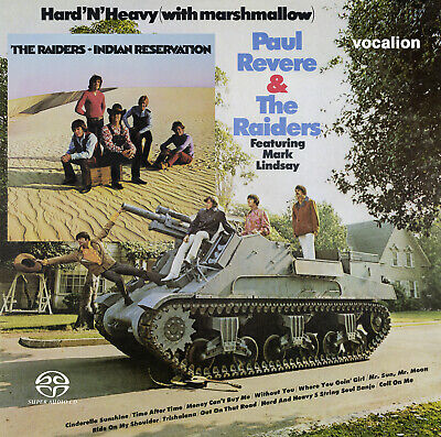 Paul Revere & The Raiders - Hard'n'Heavy (with Marshmallow) & Indian Reservation • 13.99£