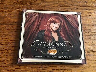 RARE - Wynonna - Love Heals - A Tribute To Our Wounded Warriors - Cracker Barrel • 7.99£