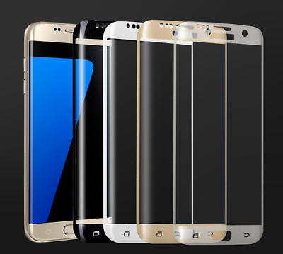 $ CDN8.87 • Buy 2x Full Cover Tempered Glass Curved Screen Protector For Samsung Galaxy S7 Edge