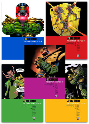 Judge Dredd Complete Case Files Volume 31-34 Collection 4 Books Set Paperback  • 50.99£