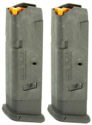 $29.12 • Buy 2 - Magpul GL9  For Glock 17, 19X, 34 Magazine 10 Round 9mm MAG801 Mag 10rd