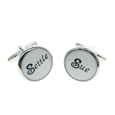 Cufflinks For Mens And Women Occupation Settle Sue Cufflinks • 4.99£