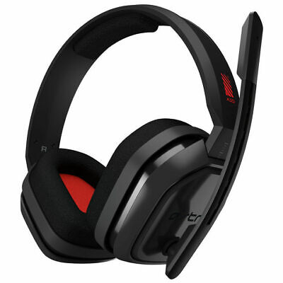 AU129 • Buy Astro Gaming A10 Wired Headset PC/Mac/Xbox One/PS4- Grey/Red (Free Postage)