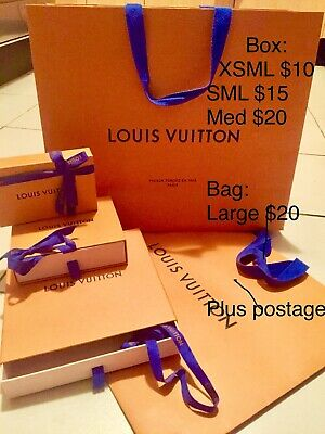 AU10 • Buy Designer Retail Carry Bags & Gift Box -  Louis Vuitton Gucci APM Monaco Hermes